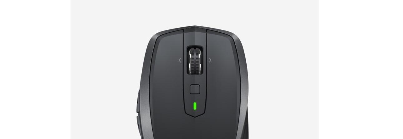 Chuột không dây Logitech MX Anywhere 2S Wireless Black  trang bị nút cuộn siêu nhanh