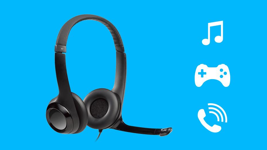 Tai nghe Logitech H390 thích hợp cho nhiều tác vụ