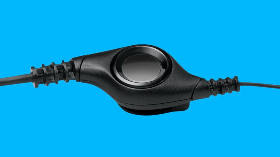 Tai nghe Logitech H390 tích hợp điều khiển trên dây tiện lợi
