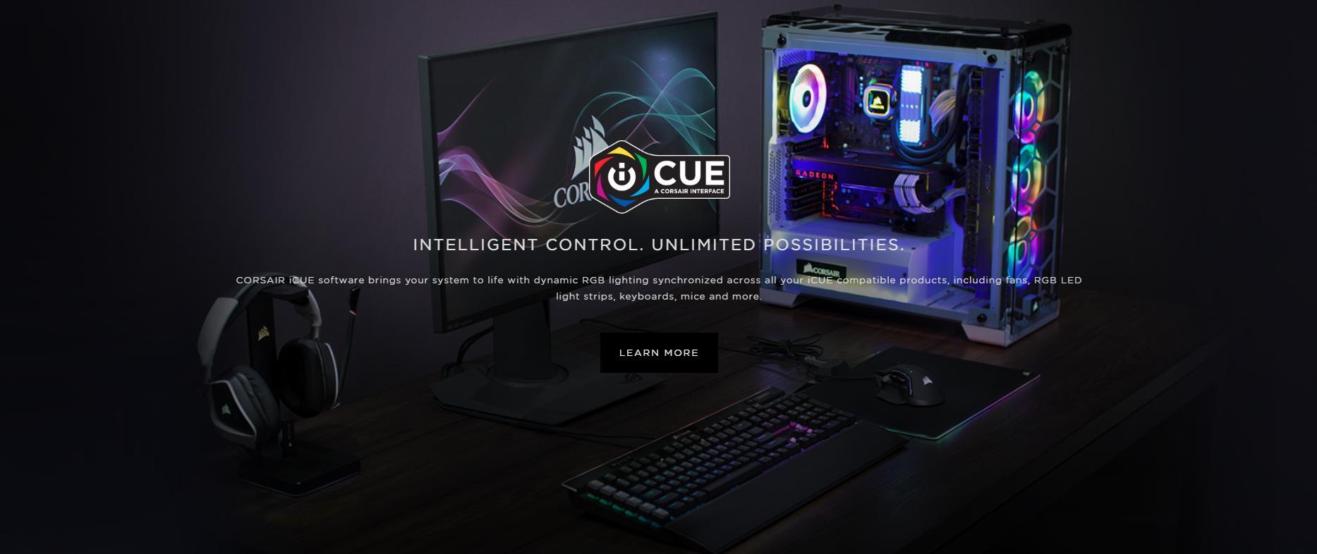 Fan Case Corsair LL140 RGB 140mm Dual Light Loop RGB LED Single Pack với ánh sáng RGB động được đồng bộ hóa trên tất cả các sản phẩm tương thích iCUE