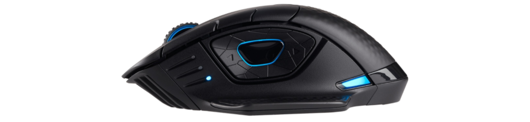 Chuột chơi game Corsair Dark Core Wireless RGB SE có thể sạc không dây