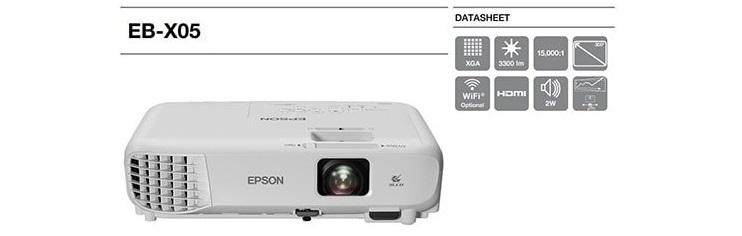 Máy chiếu Epson EB-X05 _1