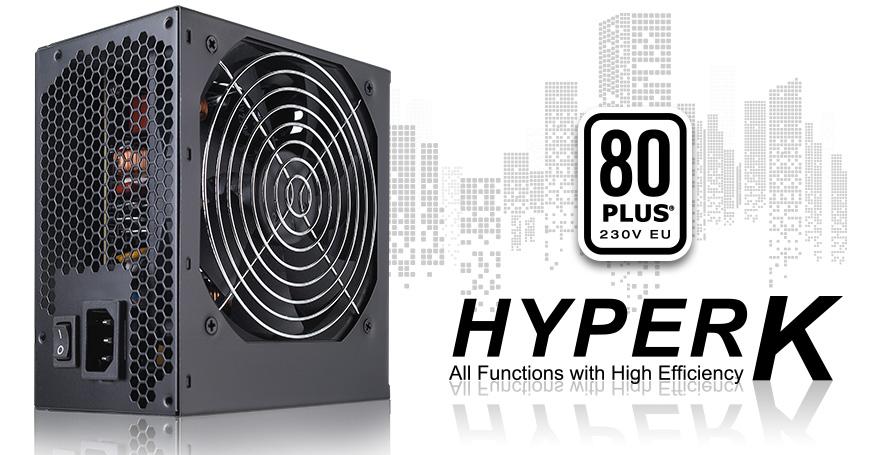 Nguồn FSP Power Supply HYPER K Series HP500 Active PFC (80 Plus Standard/Màu Đen) giới thiệu 2
