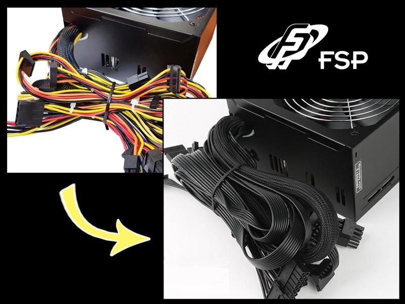 Nguồn FSP Power Supply HYPER K Series HP500 Active PFC (80 Plus Standard/Màu Đen) giới thiệu 3