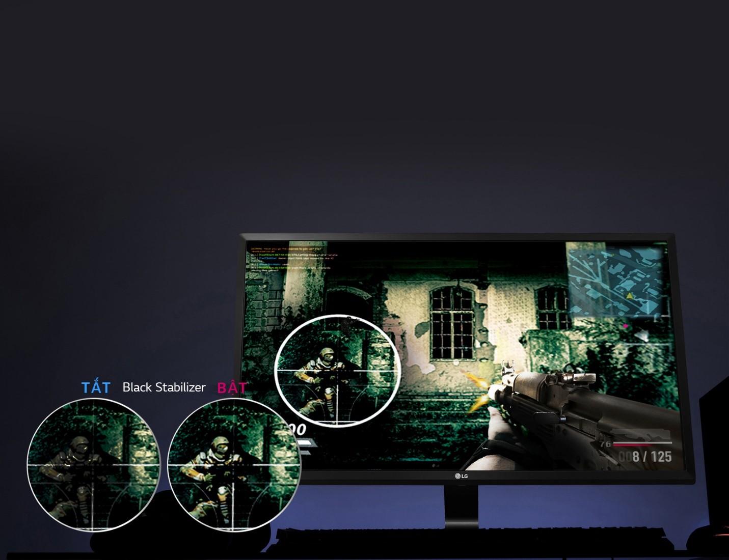 Màn hình LG 27MP59G-P game mod