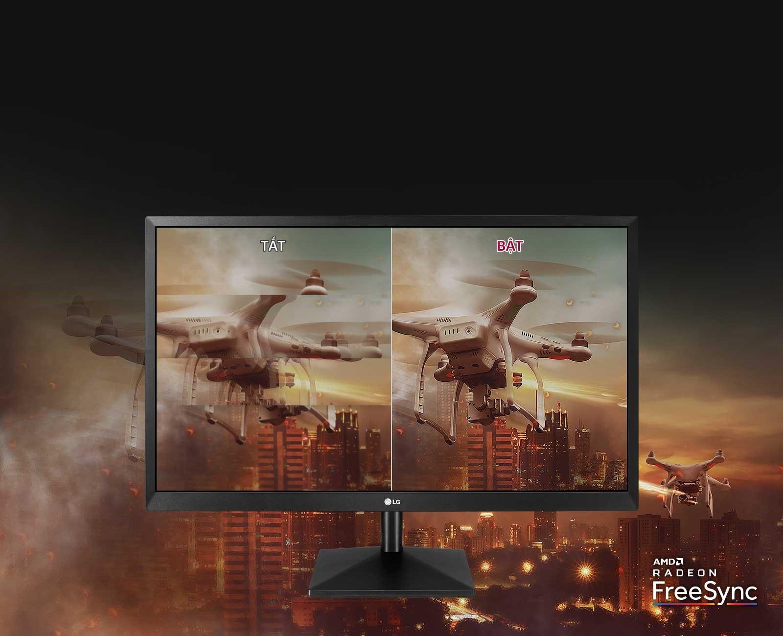 Màn hình LG 24MK430H-B AMD freesync