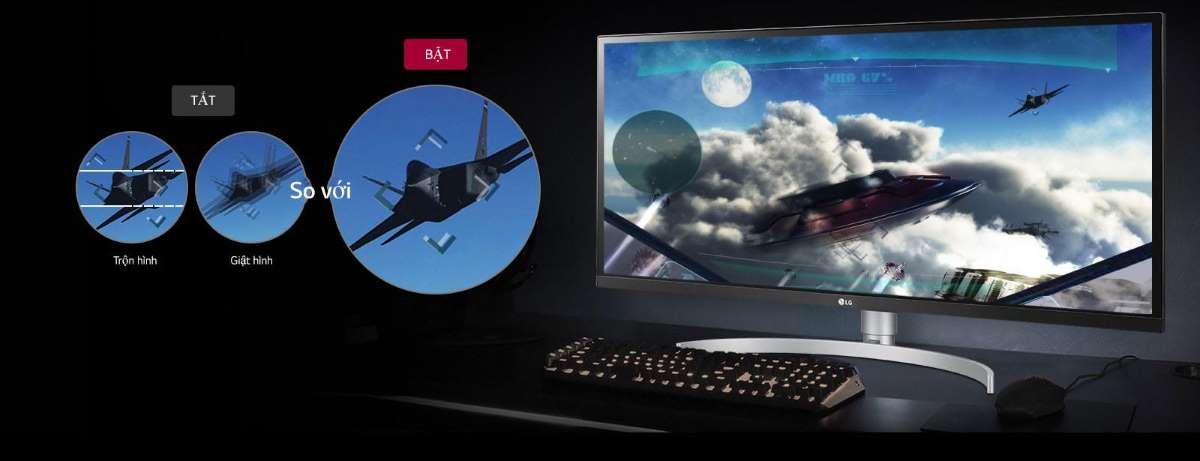 Màn hình LG 29WK600W-P on screen control