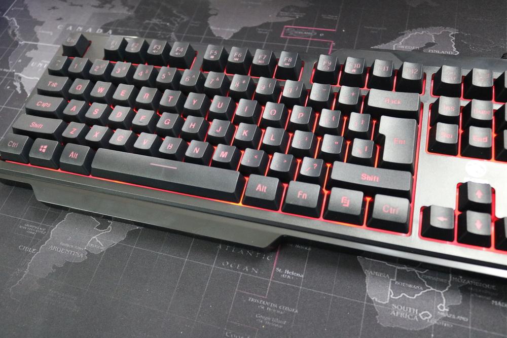 Bàn phím E-Dra EKM075 PROBK Led Gaming có độ bền phím tốt