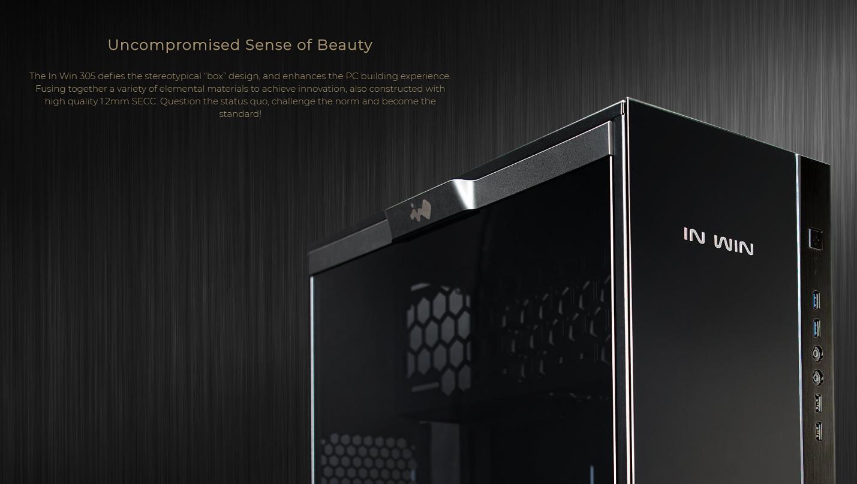 In-Win 305 - Full Side Tempered Glass giới thiệu 1