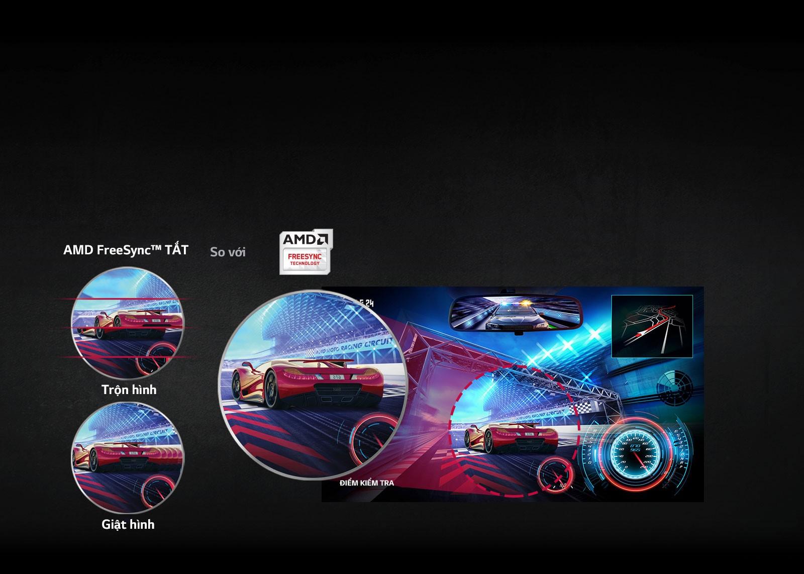 Màn hình LG 27GK750F-B cân bằng tối