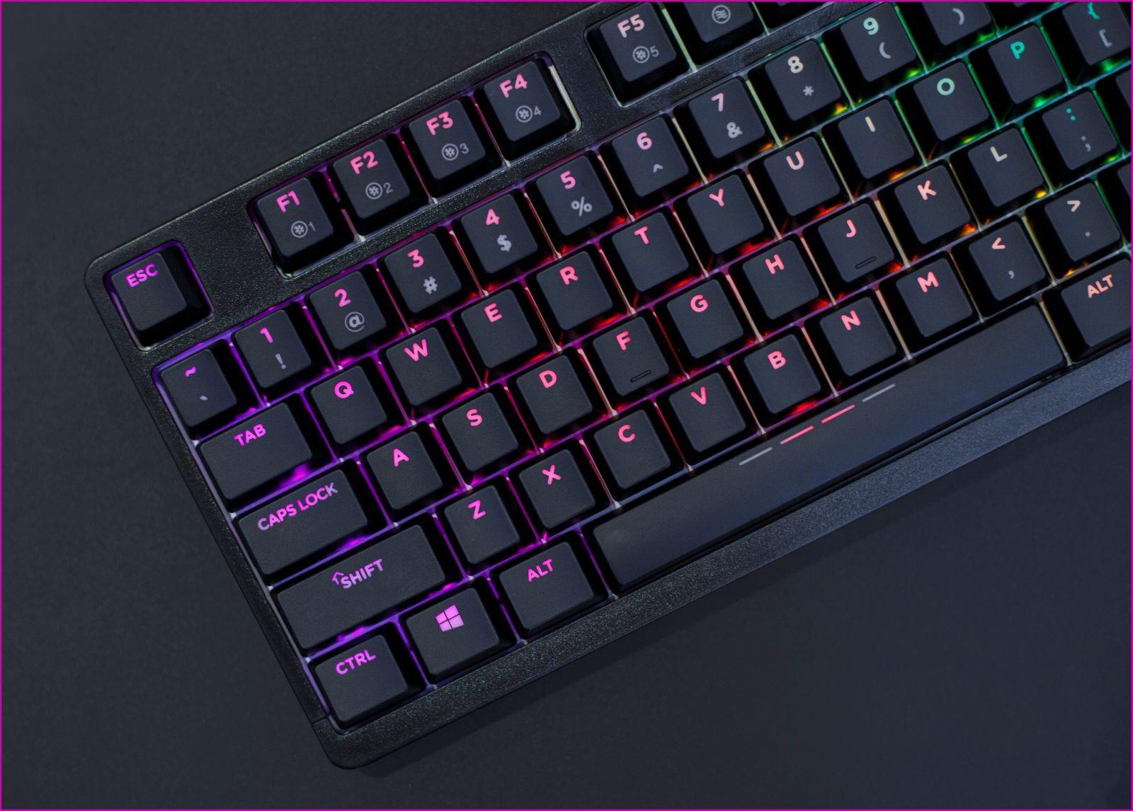Bàn phím cơ Dareu DK1280 RGB Mechanical Blue D Switch Black có thiết kế đơn giản