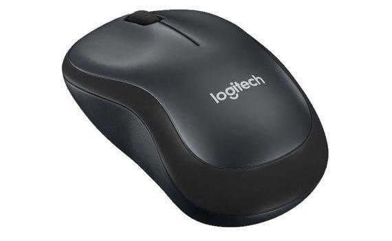Chuột không dây Logitech M221 Wireless Blue tương thích với nhiều thiết bị