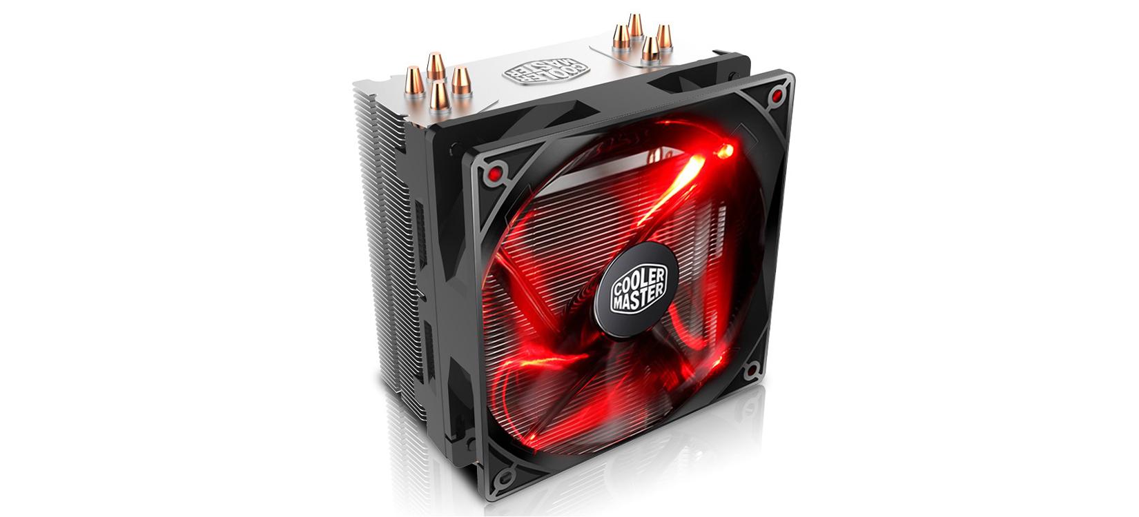Tản nhiệt CPU Cooler Master T400i Red được gia công cẩn thận, tỉ mỉ