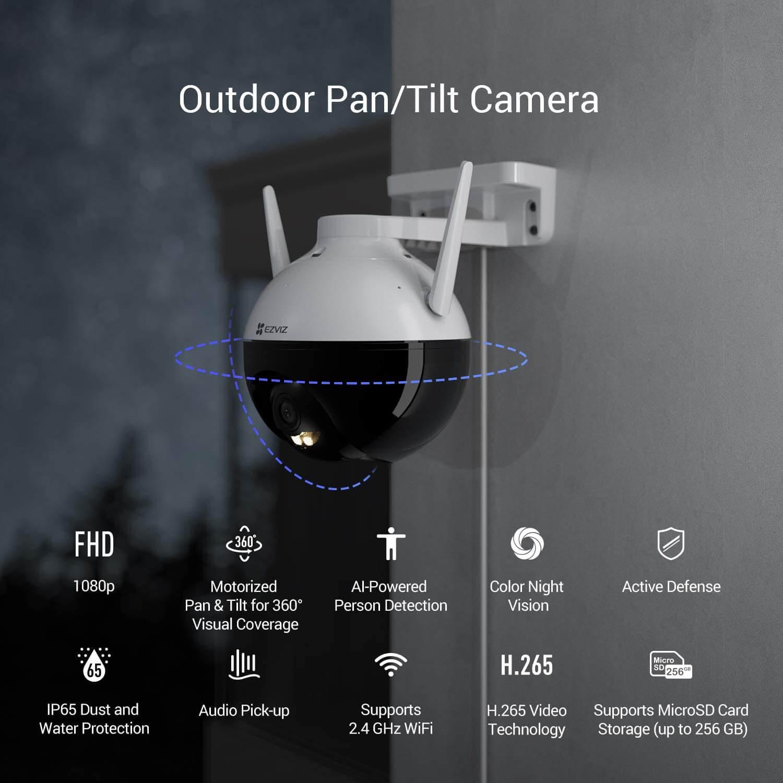Camera EZVIZ Outdoor CS-C8C (A0-3H2WFL1)