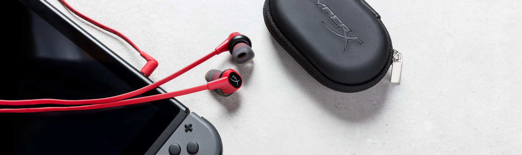 Tai nghe Kingston HyperX Earbuds (HX-HSCEB-RD) rất thích hợp với các thết bị cầm tay