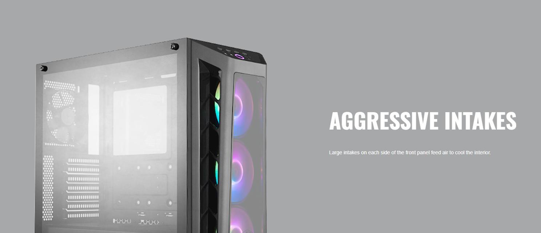 Case Cooler Master MasterBox MB530P (Mid Tower/Màu Đen /Led RGB) giới thiệu 3