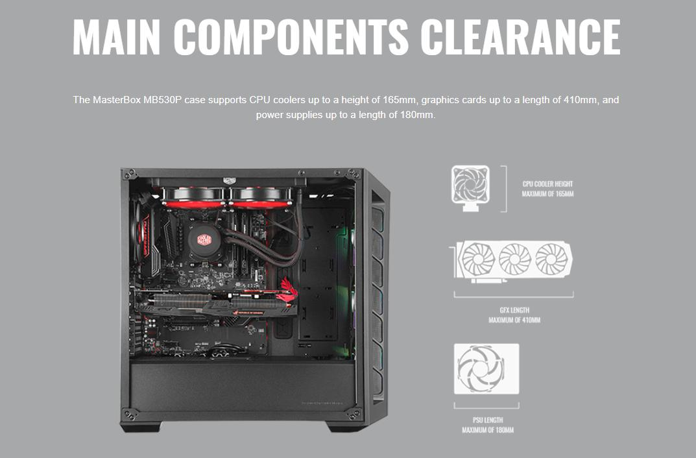 Case Cooler Master MasterBox MB530P (Mid Tower/Màu Đen /Led RGB) giới thiệu 7