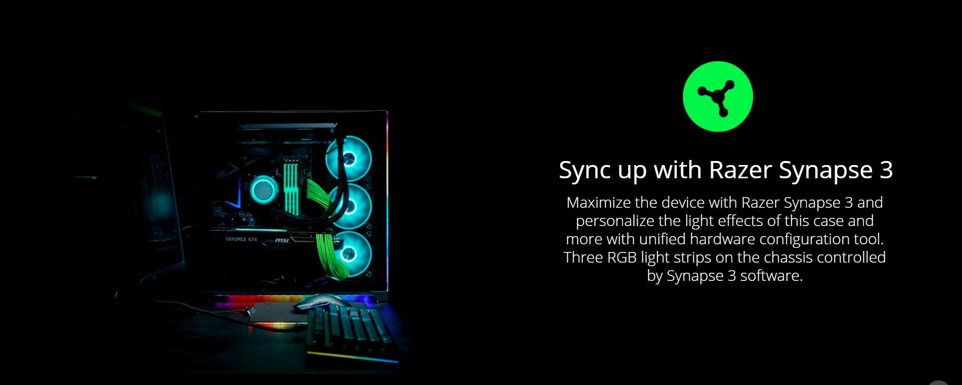 Case LIAN-LI PC-O11 DYNAMIC RAZER Edition (Mid Tower/Màu Đen) giới thiệu 2