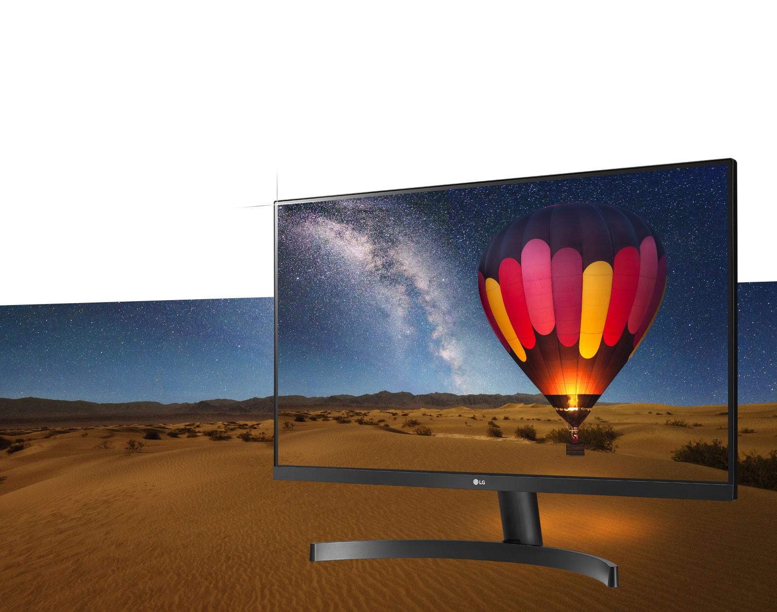 Màn hình LG 27MK600M-B thiết kế không viền