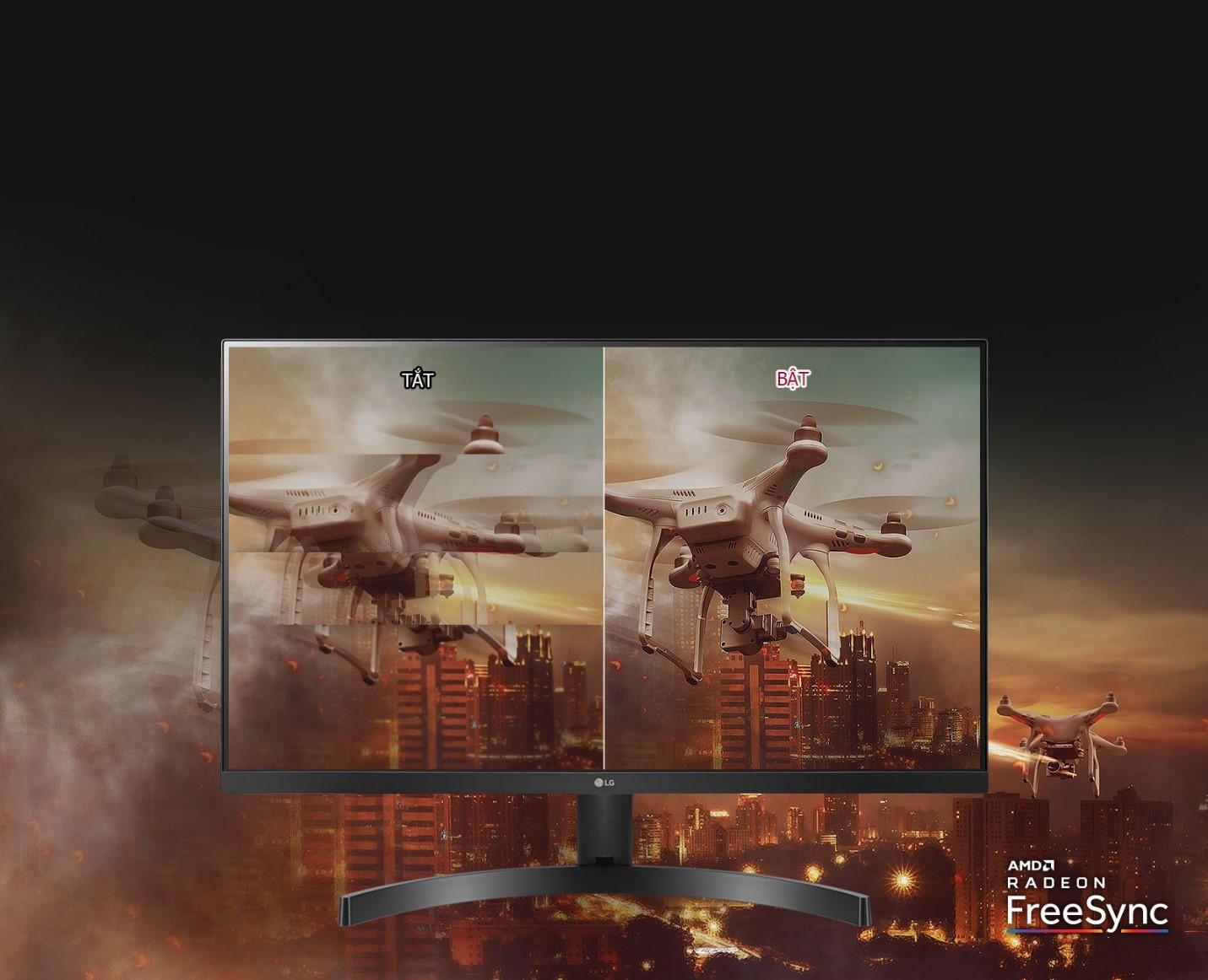 Màn hình LG 27MK600M-B free sync