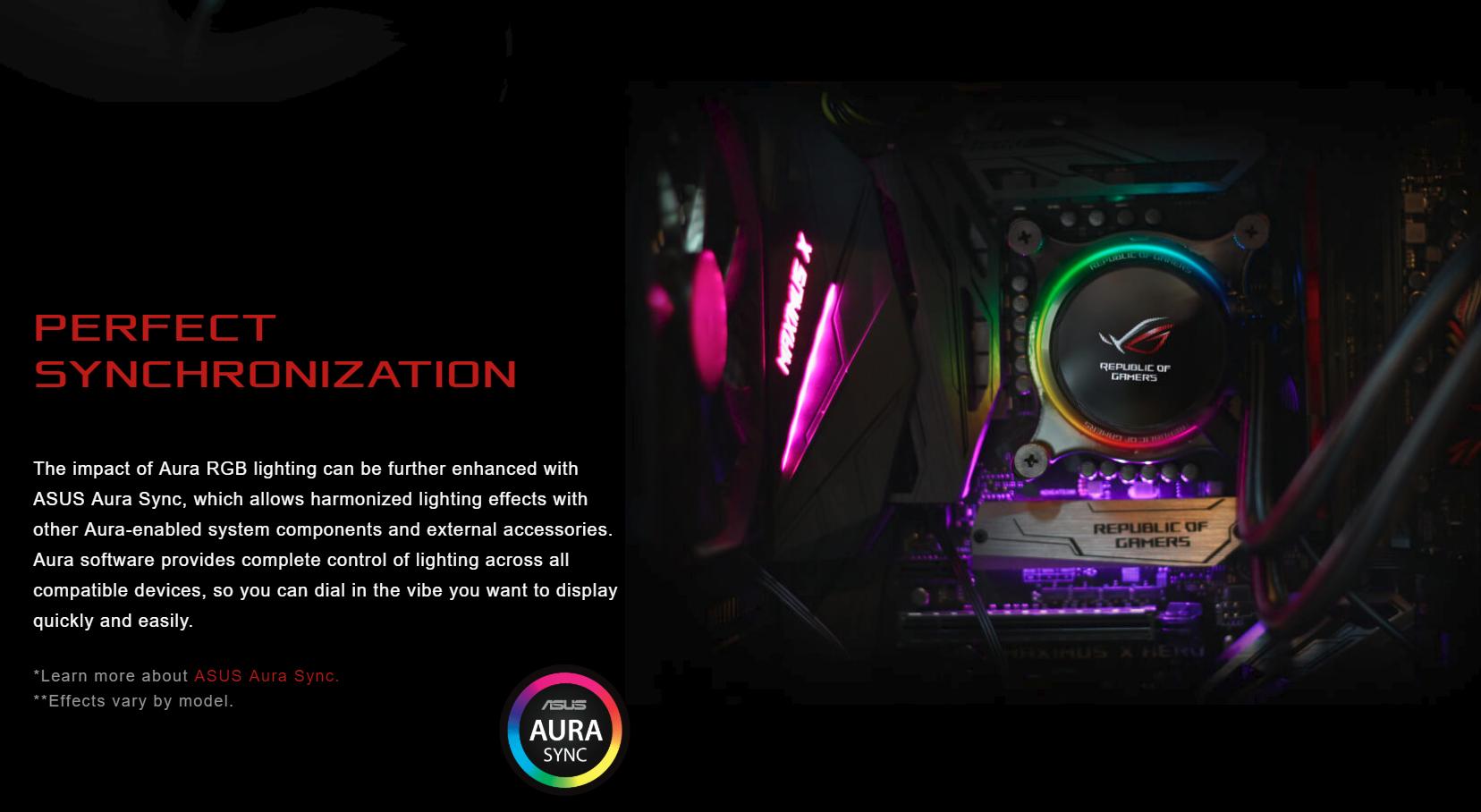 Tản nhiệt nước Asus ROG RYUO 240 - RGB 240mm Liquid CPU Cooler có khả năng đồng bộ hoàn hảo