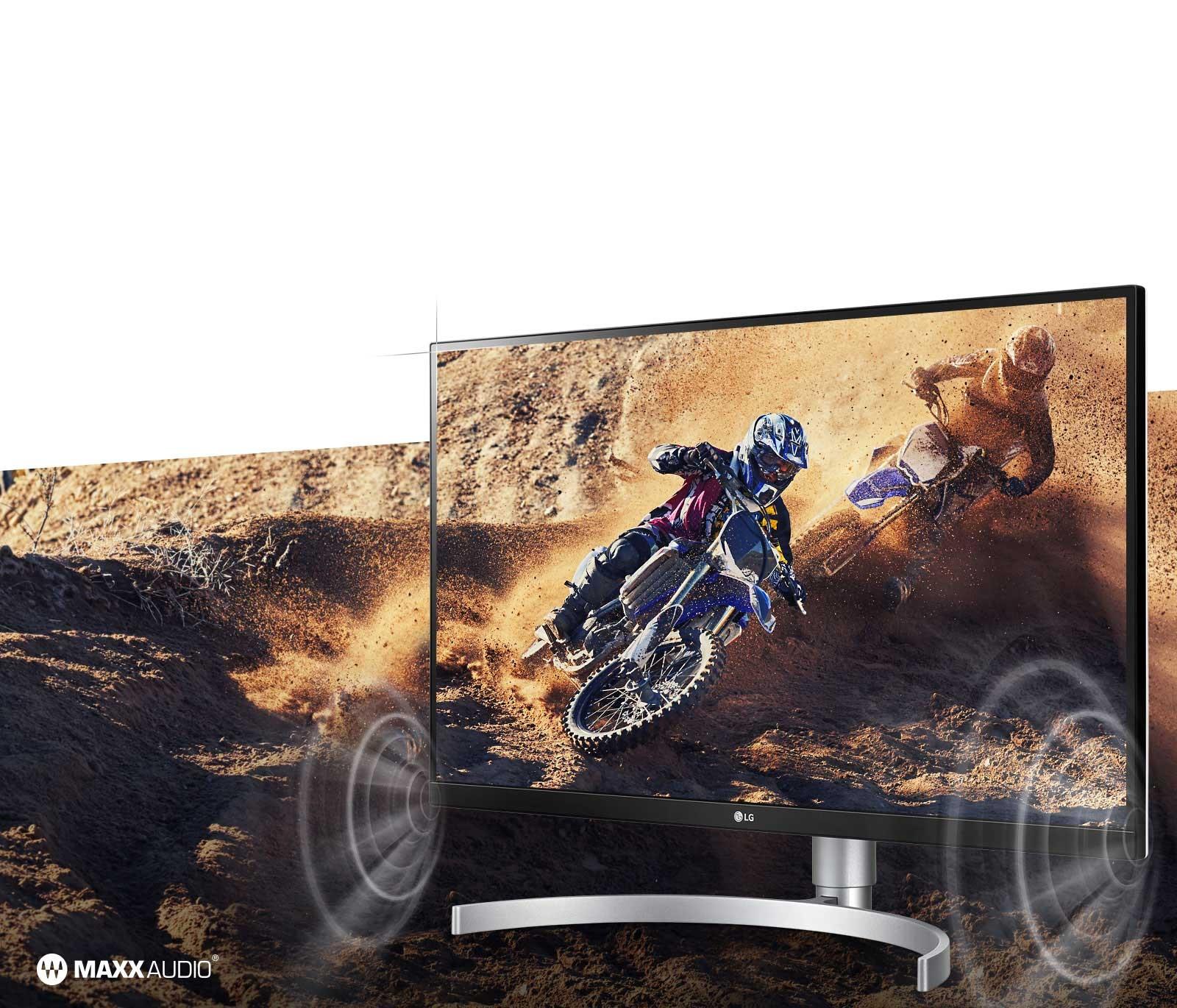 Màn hình LG 27UL850-W.ATV thiết kế không viền