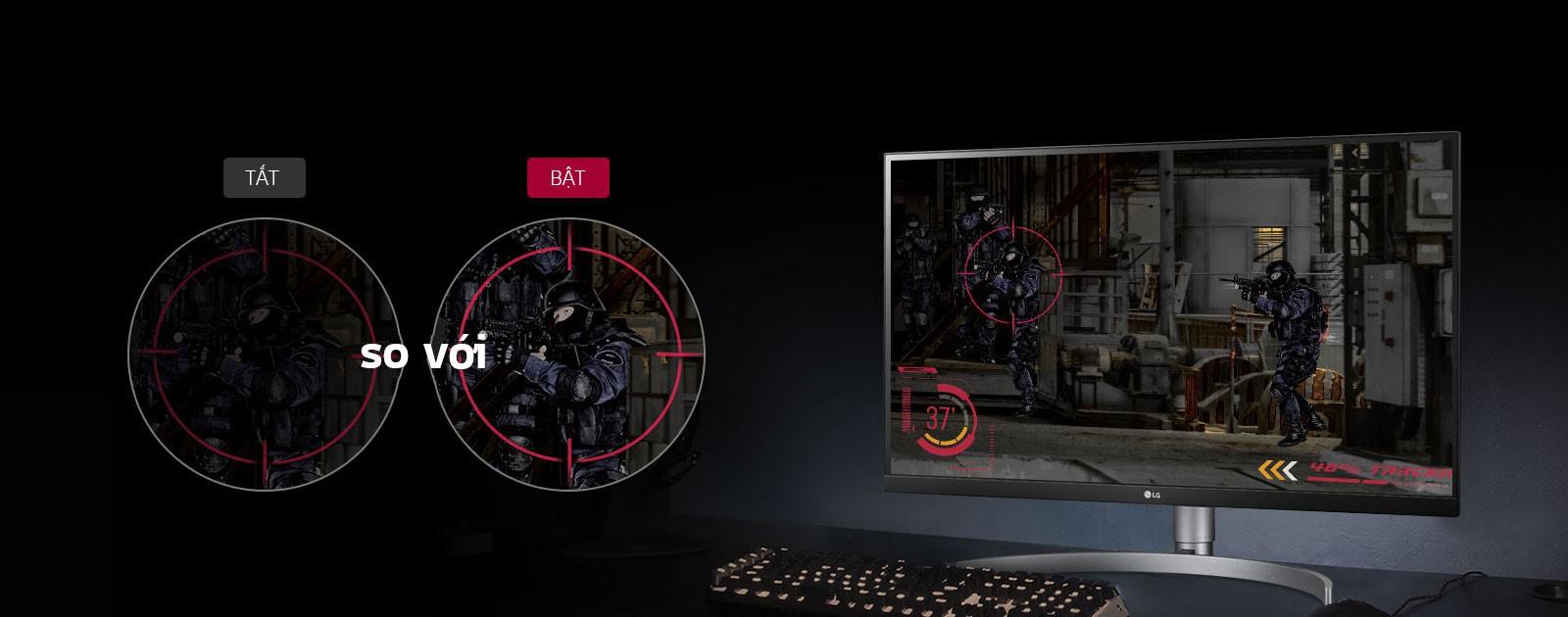 Màn hình LG 27UL850-W.ATV chế độ game