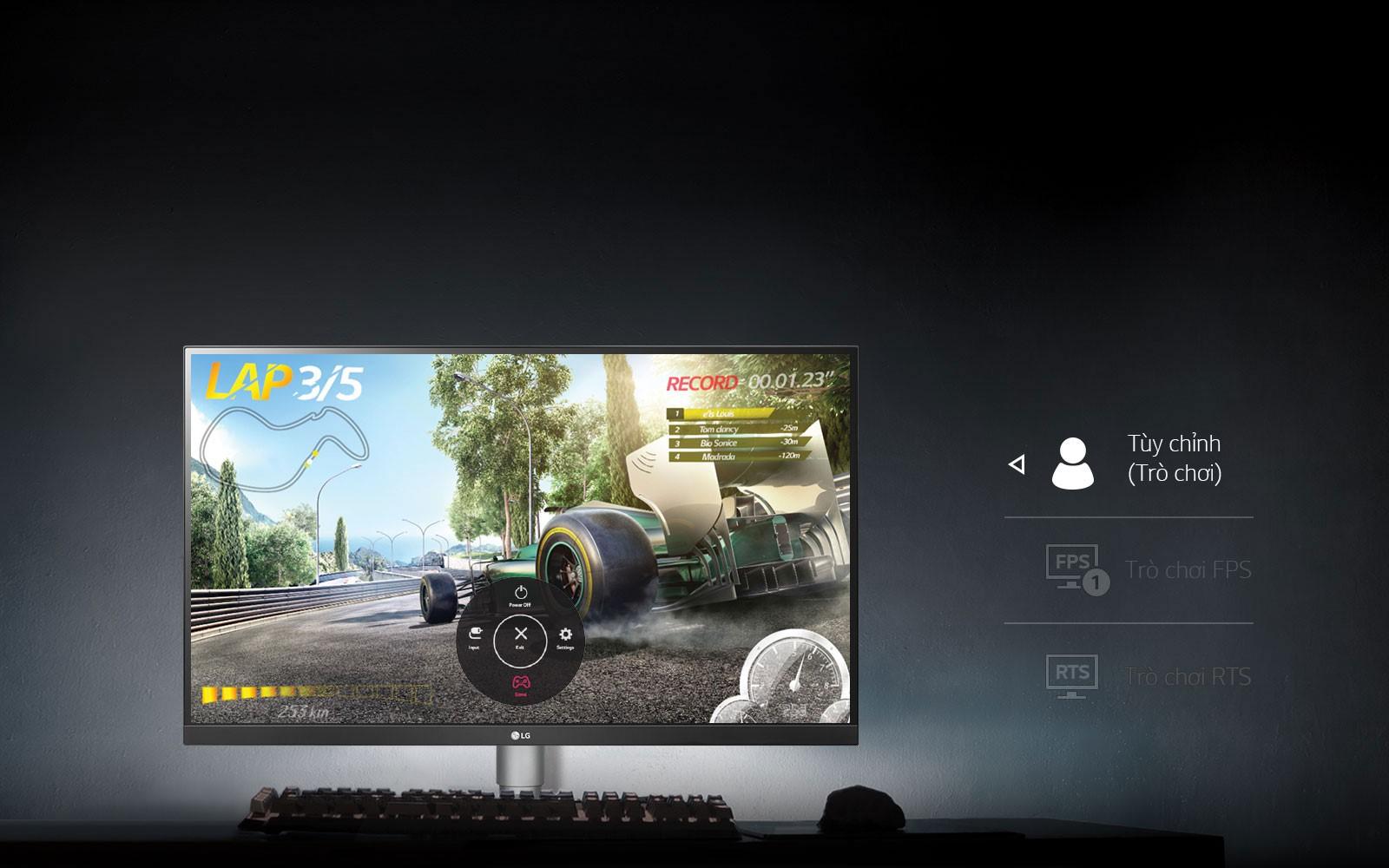 Màn hình LG 27UL850-W.ATV điều khiển màn hình