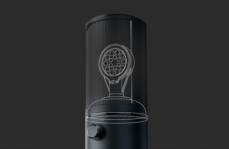 Microphone Razer Seiren X Quartz Edition - FRML Packaging 2