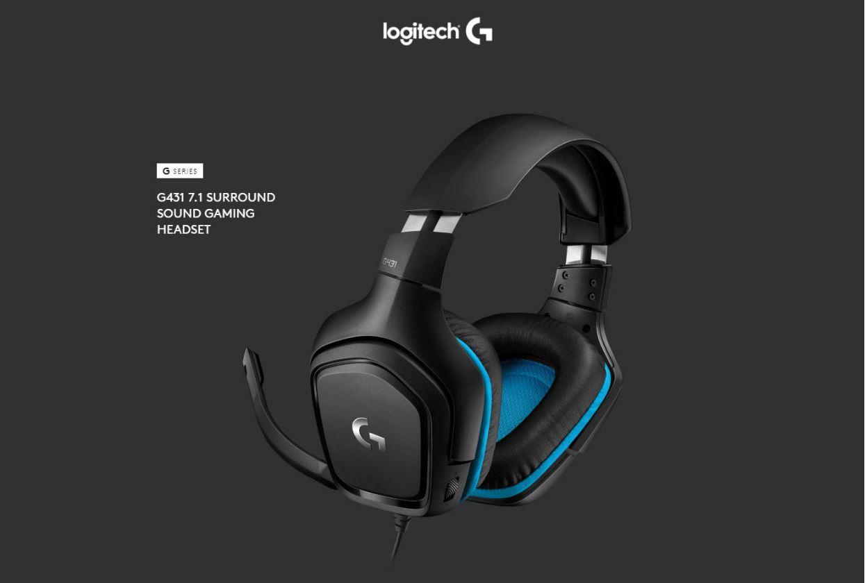 Tai nghe Logitech G431 7.1 Surround Sound Gaming Headset