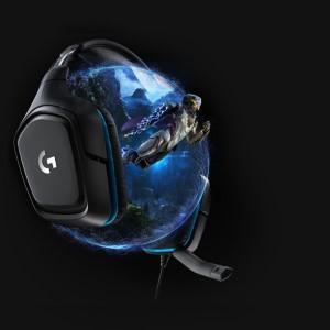 Tai nghe Logitech G431 7.1 Surround Sound Gaming Headset 1