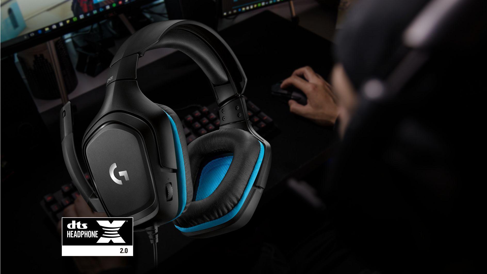 Tai nghe Logitech G431 7.1 Surround Sound Gaming Headset 3
