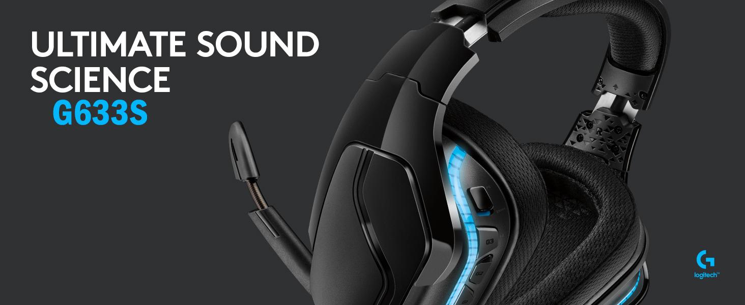 Tai nghe Logitech G633s 7.1 Surround Sound LIGHTSYNC Gaming Headset  1