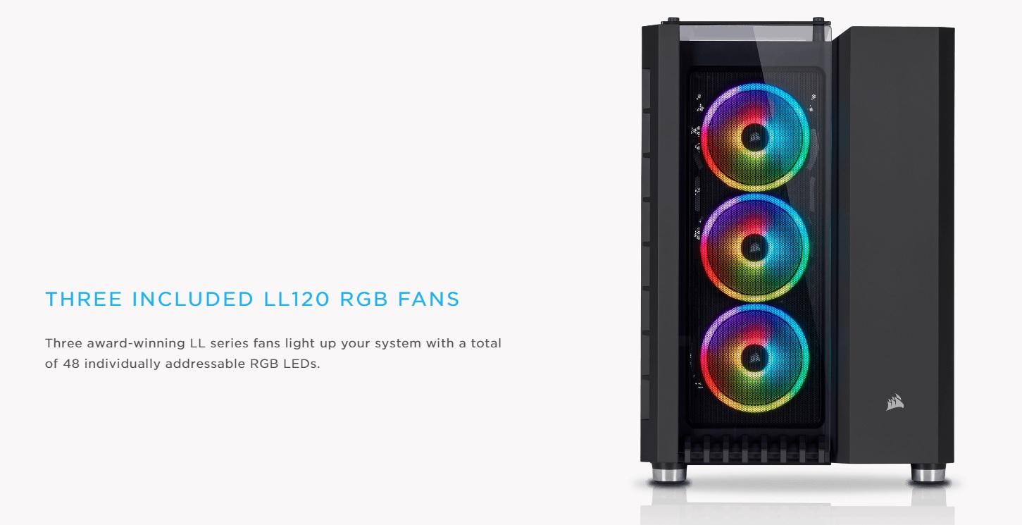 Case Corsair  680X RGB TG (Mid Tower/Màu Trắng) giới thiệu 3