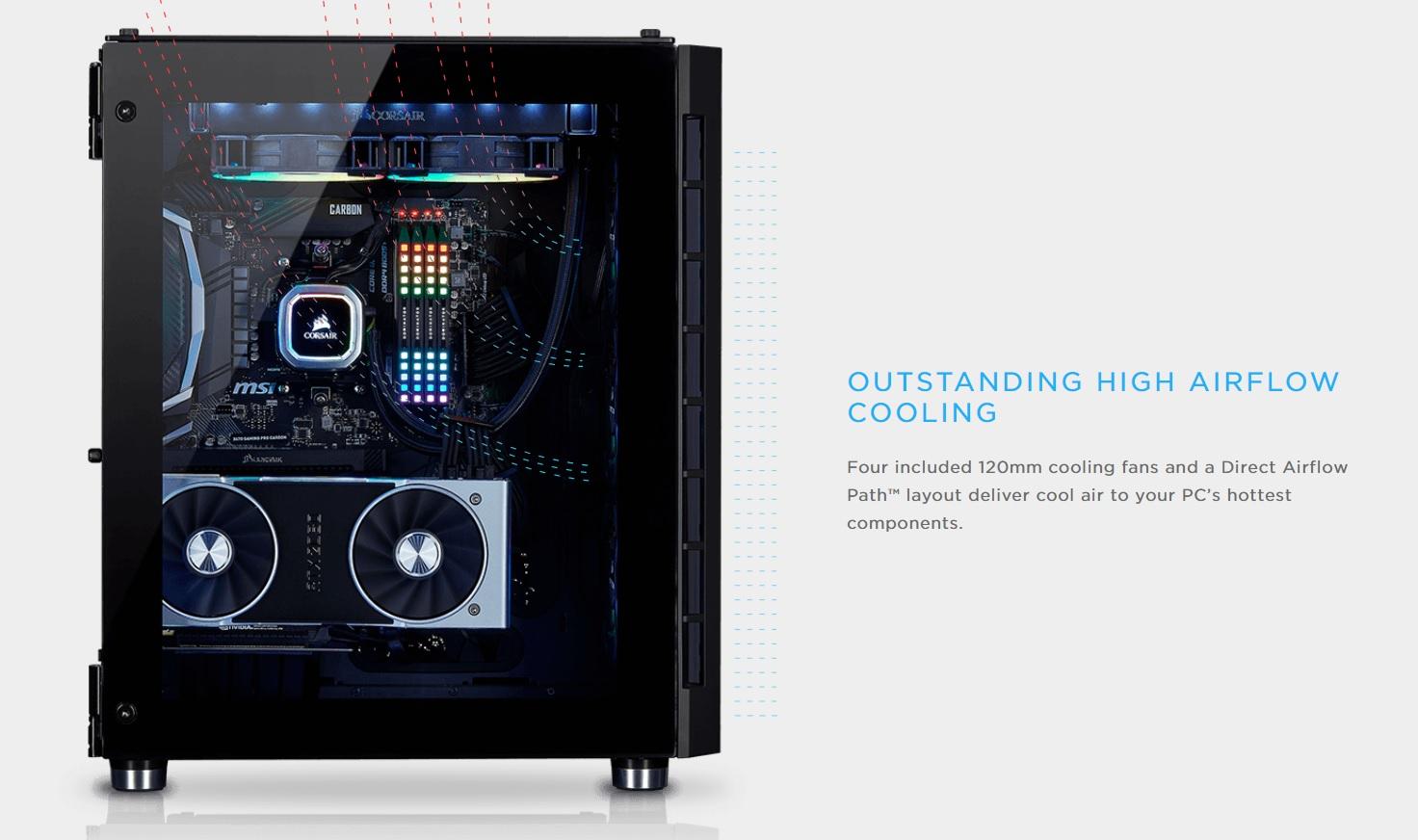 Case Corsair  680X RGB TG (Mid Tower/Màu Trắng) giới thiệu 2