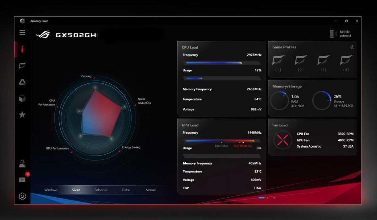 Laptop Asus ROG Zephyrus S GX502GW-ES021T-8