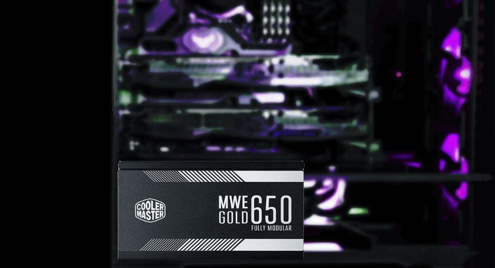 Nguồn Cooler Master MWE Gold 650 (80 Plus Gold Full Modular/Màu Đen) cung cấp đầu ra điện áp ổn định và đáng tin cậy.