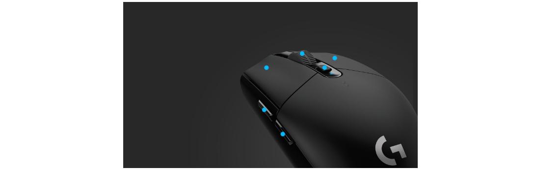 Chuột chơi game Logitech G304 Light Speed Wireless Gaming có thể lập trình các nút bấm