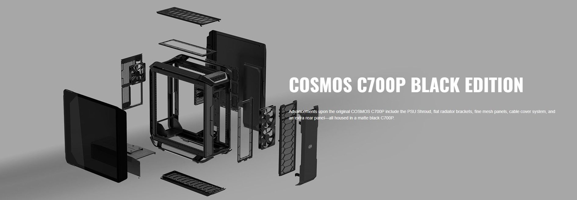 Case Cooler Master Cosmos C700P Black Edition (Mid Tower/Màu Đen) giới thiệu 3