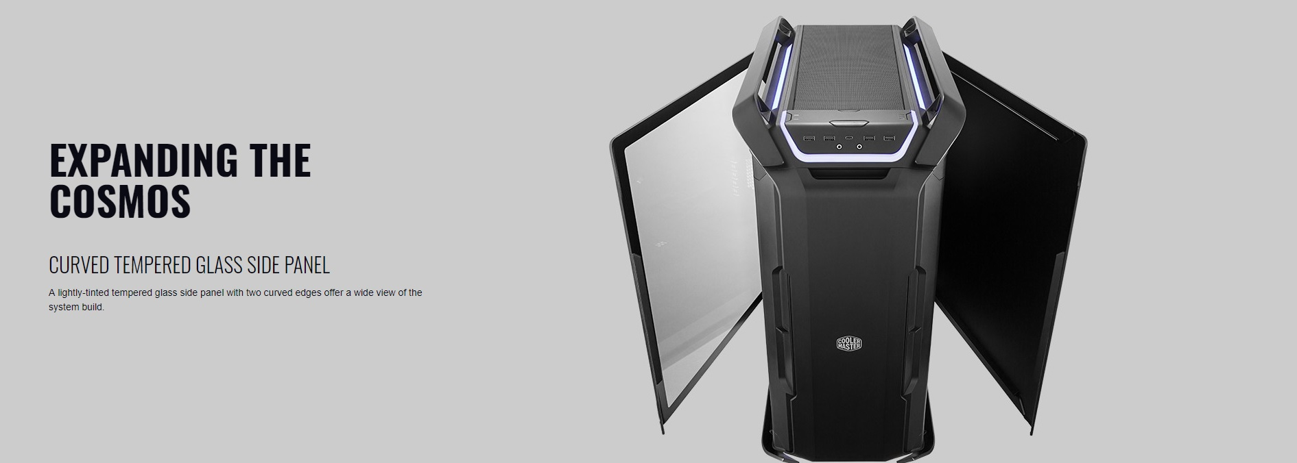 Case Cooler Master Cosmos C700P Black Edition (Mid Tower/Màu Đen) giới thiệu 4