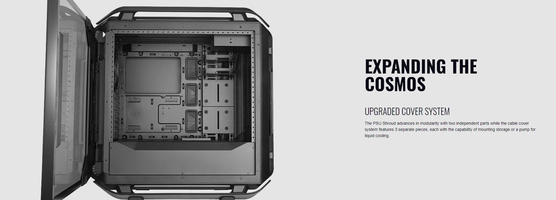 Case Cooler Master Cosmos C700P Black Edition (Mid Tower/Màu Đen) giới thiệu 5
