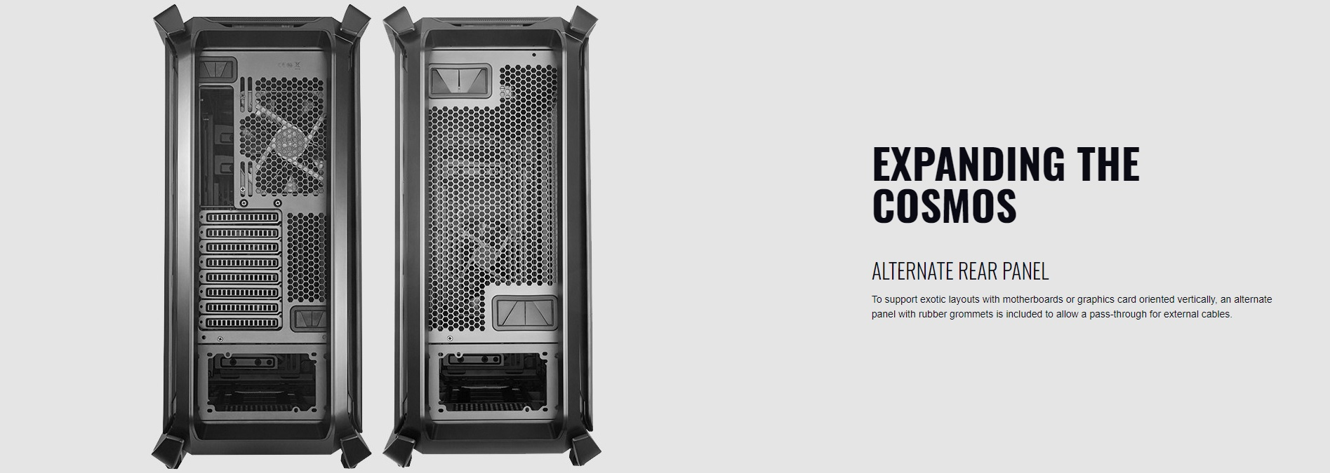 Case Cooler Master Cosmos C700P Black Edition (Mid Tower/Màu Đen) giới thiệu 7