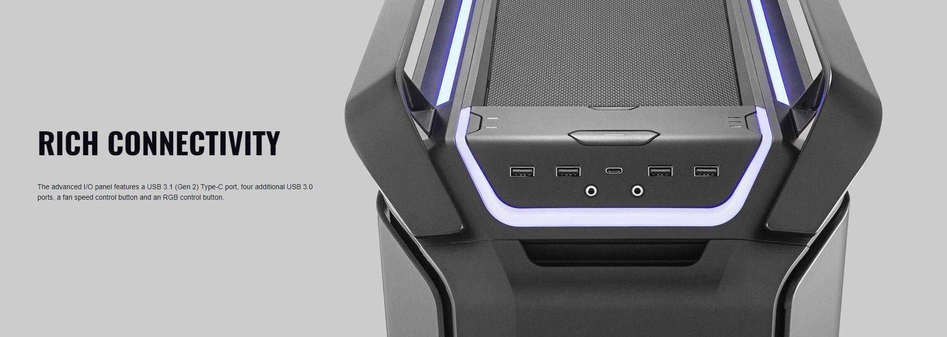 Case Cooler Master Cosmos C700P Black Edition (Mid Tower/Màu Đen) giới thiệu 9