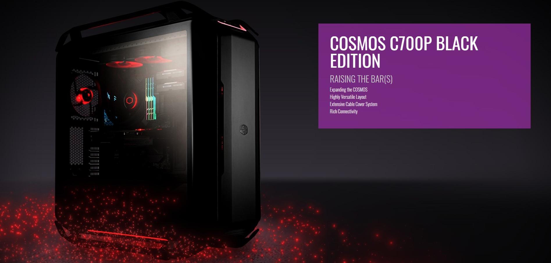 Case Cooler Master Cosmos C700P Black Edition (Mid Tower/Màu Đen) giới thiệu 2
