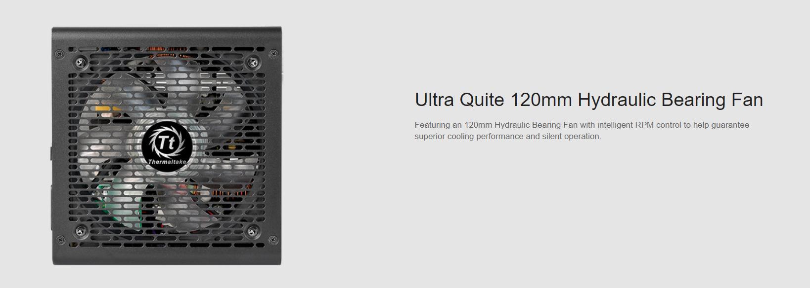 Nguồn Thermaltake Litepower RGB 450W (Màu Đen/Fan RGB)