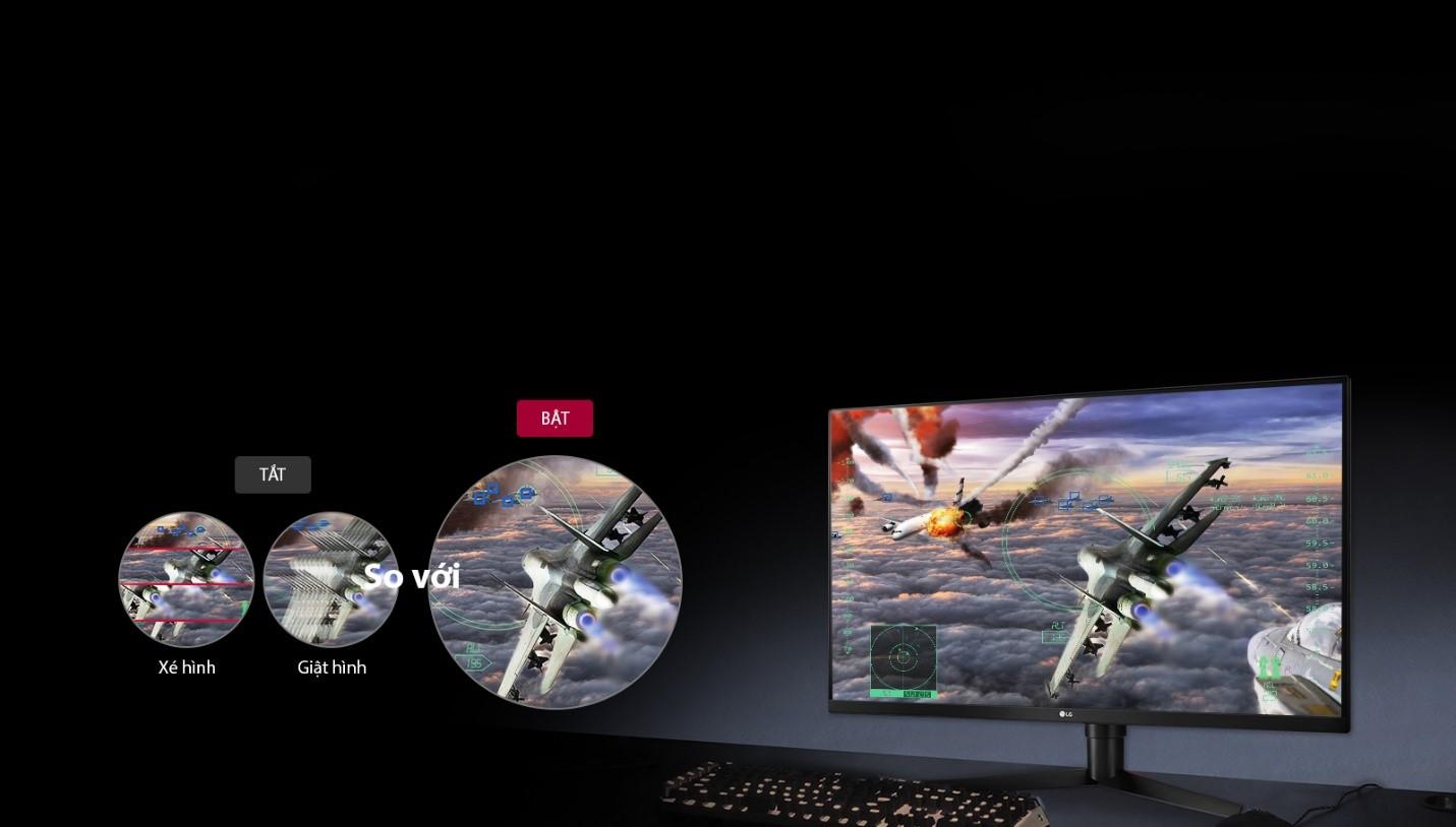 Màn hình LG 32GK650F-B free sync