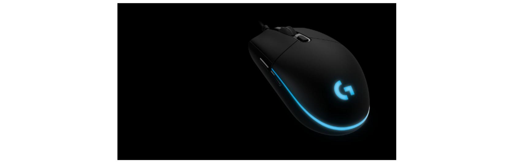 Chuột chơi game Logitech PRO HERO Gaming trang bị hệ thống Led RGB với công nghệ Lightsync