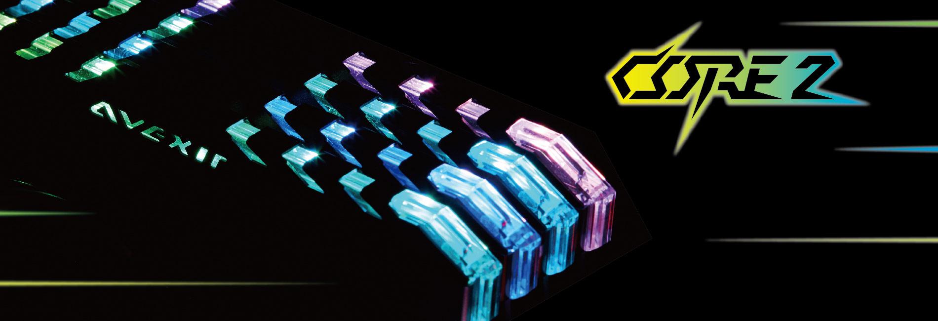 Ram Desktop AVERXIR 2C2C - Core2 RGB