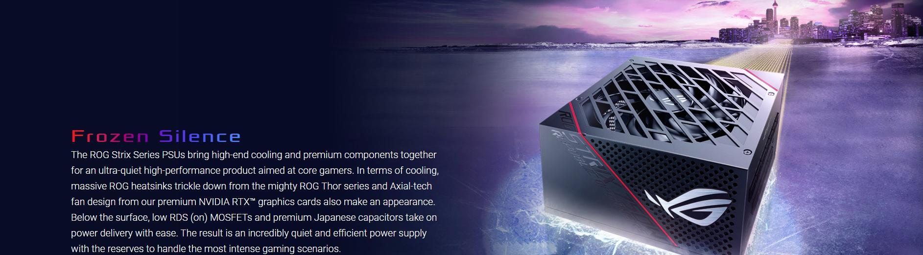 Nguồn Asus ROG Strix 650W Gold - 650W 80 Plus Gold Full Modular giới thiệu