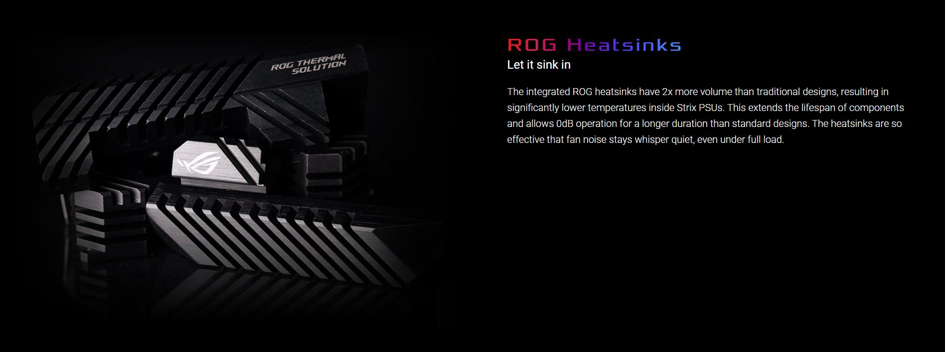 Nguồn Asus ROG Strix 650W Gold - 650W 80 Plus Gold Full Modular giới thiệu 3